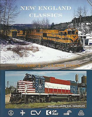 NEW ENGLAND CLASSICS - Class Ones - Maine Central, Boston & Maine -- (NEW BOOK)