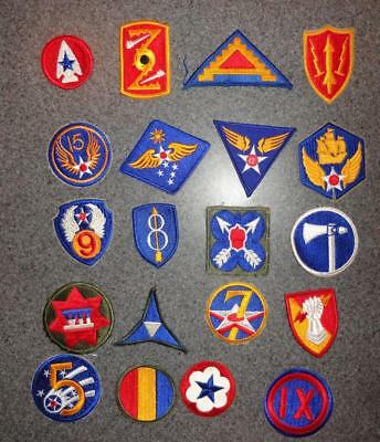Lot of 20 Army Patches