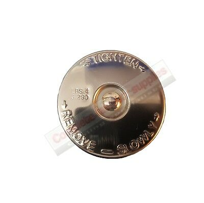 Land Rover Series 1 (One) And Rover P4 1950 - 1961 Stainless Steel Radiator Cap