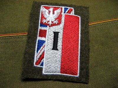 .Poland 1st Corps Polish Armed Forces in the West,ww2 Patch