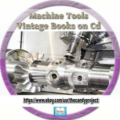 Machine Tools Learn How Use Old hand tools cutting Vintage Book DVD Collection