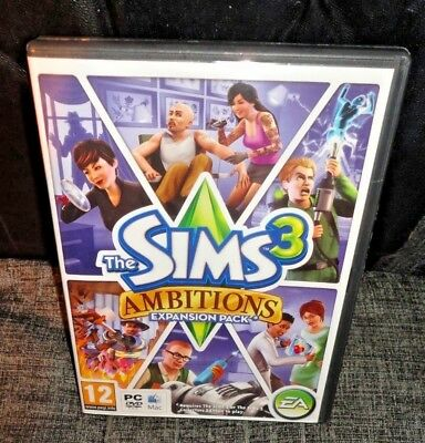 The Sims 2 Ambitions Expansion Pack PC Game FAST & FREE