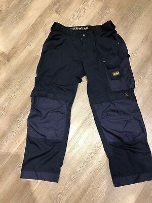 Snickers 3311 Cooltwill Trousers SnickersDirect Navy