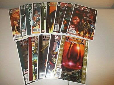 Ultimate Galactus Trilogy (Lot of 14 Comics) Extinction 1-5, Nightmare, Secret