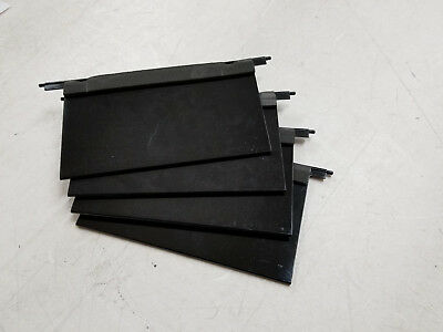 Set of 4 IBM Tape Drive Solt Door Covers Total Storage Tape Library TS3584-L53