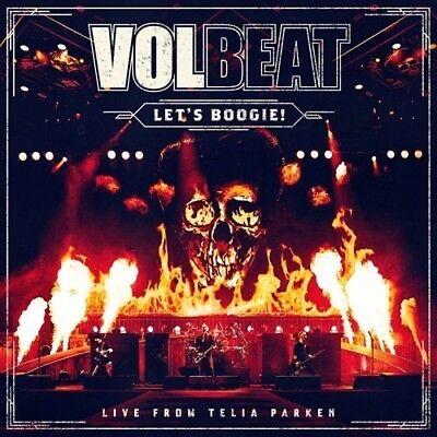 Let's Boogie (Live From Telia Parken) - 2 DISC SET - Volbeat (2018, CD NUOVO)