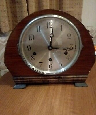 A Nice 1930's German Mantel Clock* Marked Foreign*