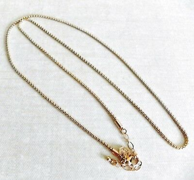 """Origami Owl 24""""-26"""" Gold Cube Chain NEW"""