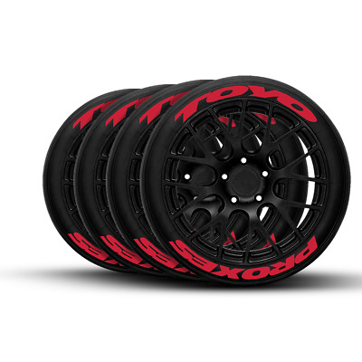 """TOYO PROXES Tire Lettering - RED 18"""" 19"""" 20"""" 21"""" 22"""""""