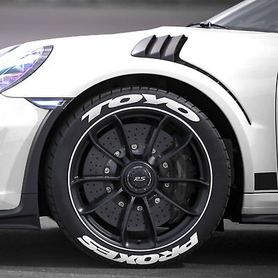 TOYO PROXES Tire Lettering -- WHITE