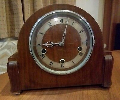 Antique Smiths Enfield Royal Mantel Clock