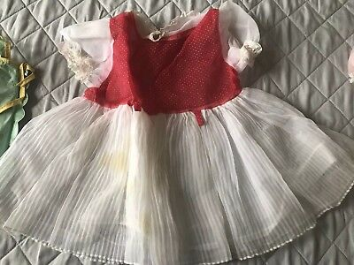 Large Lot Vintage 1950s Baby Girl Clothes Dresses Amazing!!