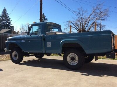 1966 Ford F-250  1966 F-250 4x4 Real Barn Find - Rare!