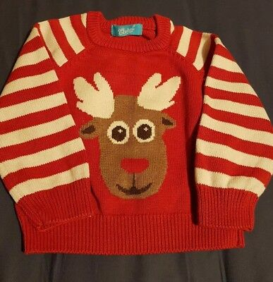 Boys Christmas Jumper 18/24 Months
