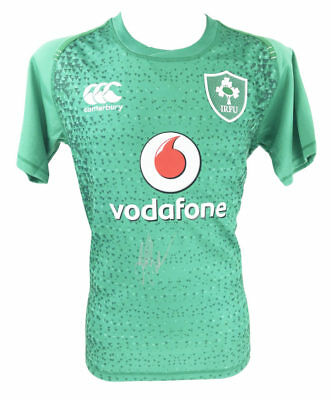 Signed Johnny Sexton Jersey, Ireland Rugby - Win V All Blacks 2018 + *coa*