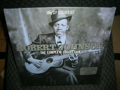 Robert Johnson **the Complete Collection *new 180 Gram Double Record Lp Vinyl
