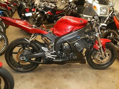 Yamaha R1 2004 Model  Selling As/traded  @  $1 Auction No/reserve