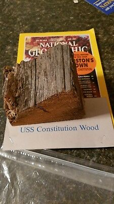 Authentic Wood from USS Constitution!
