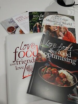 Brand New Slimming World 2018 Starter Pack With Storage Folder & Trackers