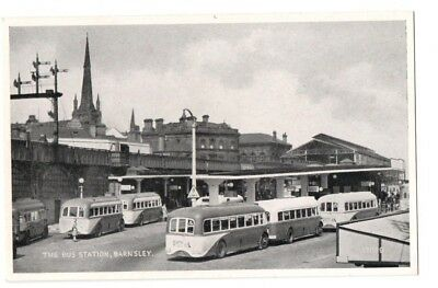 Barnsley Bus Station with Yorkshire Traction buses