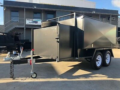 8x5 TANDEM LANDSCAPE / GARDENING TRAILER | CHECKERPLATE FLOOR | AUSSIE MADE