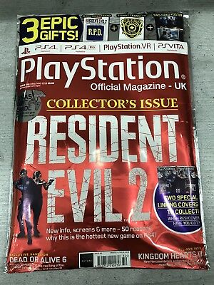 Playstation Magazine UK: Resident Evil 2 Collectors Issue (Xmas 2018)