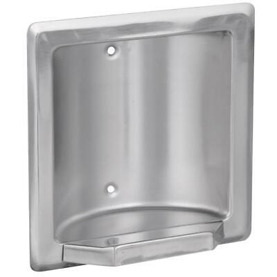 Franklin Brass Century Recessed Soap or Tumbler Holder in Bright Stainless 5566