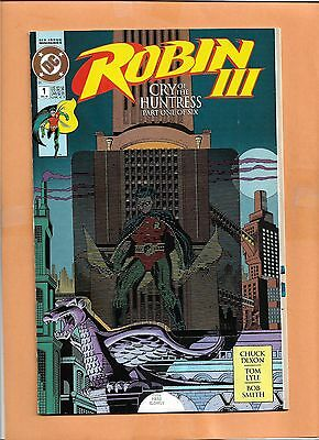 Robin III #1 Dec 1992 Dc Comics