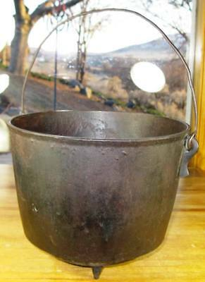 1800'S Bean Pot, Peyote Drum, Gypsy Caldron W/ Gate Mark, In Great Condition!