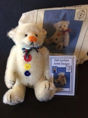 "Deb Canham ""Frosty"" inbetweenie Ltd Ed 4 Of 100 Collectible Bear"