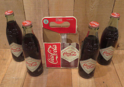 2008 Coca-Cola Coke Drink Bottles Set of 4 Unopened Limited Edition Atlanta, GA