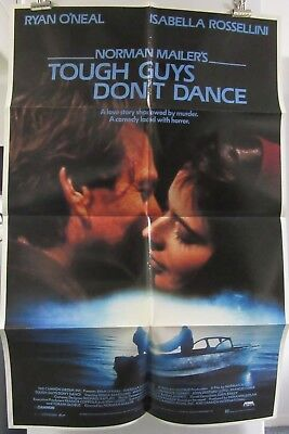 Tough Guys Don't Dance Ryan O'Neal folded American 1sht home video movie poster