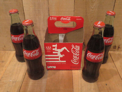2012 Coca-Cola Coke Bottles Set of 4 Unopened London 2012 Olympic Games