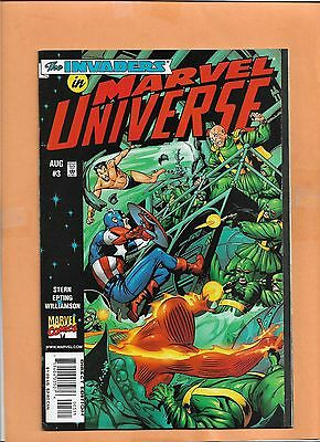 The Invader en Marvel Universe #3 Aug 1998 Marvel Comics