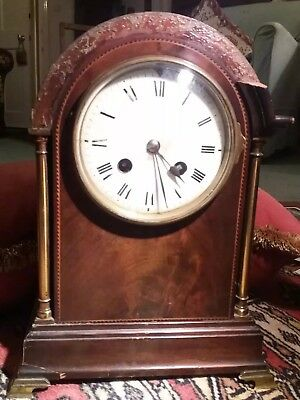 Beautiful Vintage French Clock Working movement