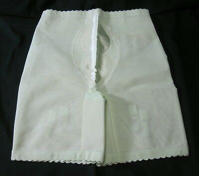 Lark Panty Girdle with Garters Green Shaper Long Line Size XL Vintage 1960s