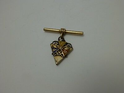 Antique Knights of Pythias Watch Fob Part
