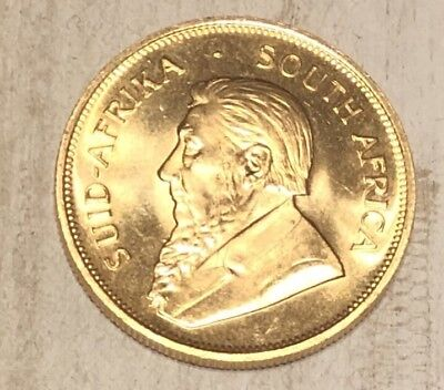 1981 South Africa African 1 Oz Gold Coin Krugerrand Excellent Condition
