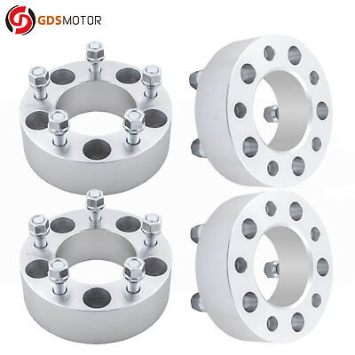 "4pc 2"" Jeep 1/2 Wheel Spacer Adapters 5x5 5x127 Fits Grand Cherokee 1999-2010"