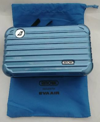 Brand New Rimowa Amenity Kit Eva Air Blue (Special Edition)