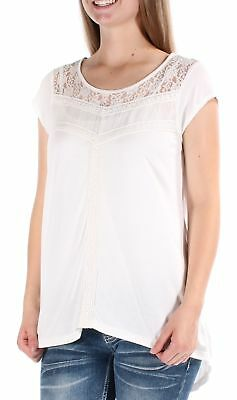 AMERICAN RAG $55 Womens New 1038 Ivory Sleeveless Textured Hi-Lo Top M B+B