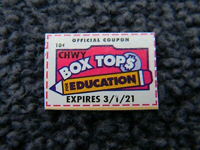 76 Box Tops for Education, trimmed, BTFE, 2019 - 2021