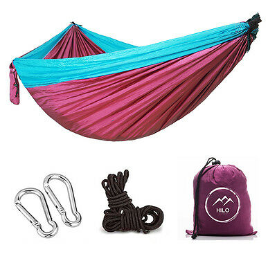 Hilo Outfitters Single Camping Hammock Parachute Nylon Fast Shipping From NC