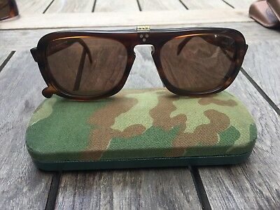 Cutler and Gross Vintage Flip Up Sunglasses Made in the EU