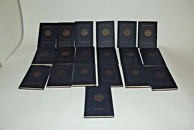 1924 Masonic Service Association Of The United States Books Set First Ed-NM