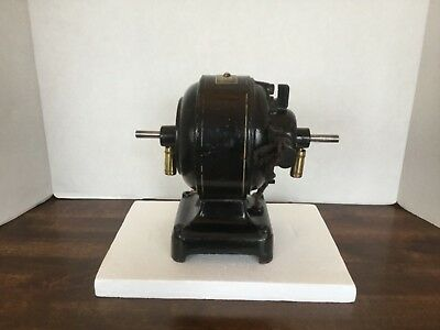 Antique Vintage Cast Iron Fidelity Electric Company Motor Model 4850 Rare Nice!