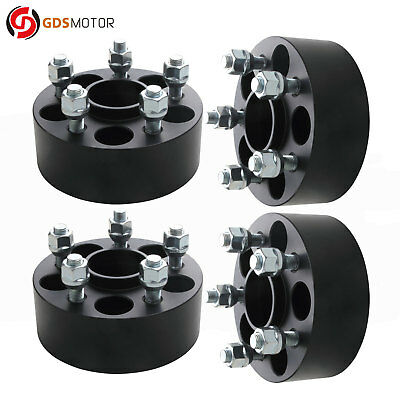 "2"" 5x100 Hub Centric Wheel Spacers Fits Subaru Forester 1998-2018 12x1.25 Studs"