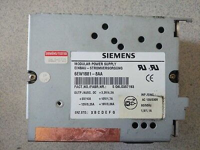SIEM 6EW1881-8AA 6EW1 881-8AA Used and Tested 1pcs