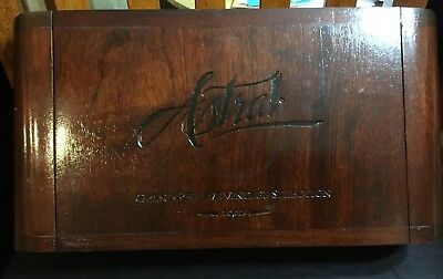Astral 1992 Grand Reserve Vintage Collection Empty Cigar Box