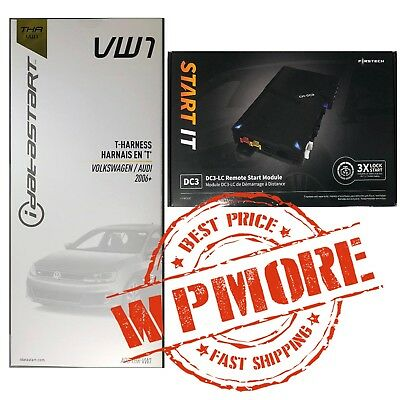 iDatalink ADS-THR-VW1 + FIRSTECH FT-DC3-LC REMOTE START IT FOR VW & AUDI VWX000A